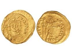 10.60.70: Antike - Byzantinisches Reich - Mauricius Tiberius, 582 - 602