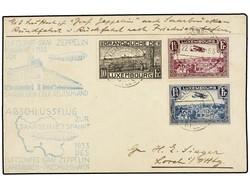 982512: Zeppelin, Zeppelinpost LZ 127, Deutschlandfahrten 1933