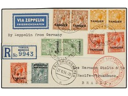 982530: Zeppelin, Zeppelinpost LZ 127, Südamerikafahrten 1934