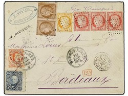 2672: Französische Auslandspostämter
