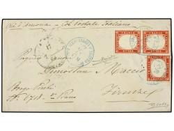 1560025: Ägypten Italienisch Postämter