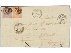 1560040: Ägypten Britische Postämter