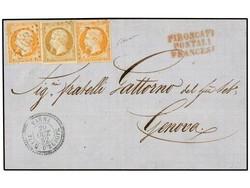 2620: Französische Post in der Levante