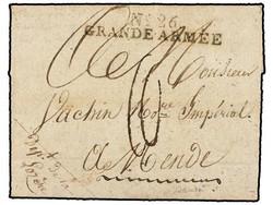2590: Französische Post in Ägypten - Alexandria