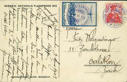 5659: Schweiz Flugpostmarken - Telegrafenmarken