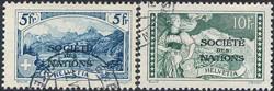 5670: Schweiz Völkerbund SDN - Stempel