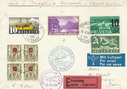 5657: Schweiz Pro Patria - Flugpostmarken