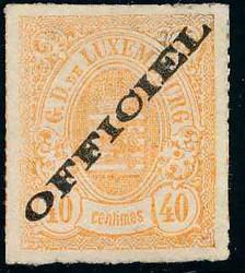 4210: Luxemburg - Dienstmarken