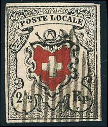 5655080: Schweiz Übergangszeit, Waadt, Neuenburg, Winterthur - Stempel