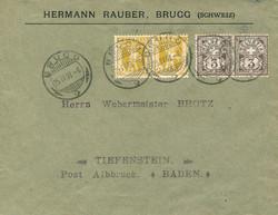 5655: Schweiz - Vorphilatelie