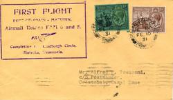 7690: Sammlungen und Posten Zeppelin und Luftpost - Portomarken