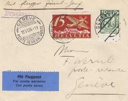4175: Liechtenstein - Flugpostmarken
