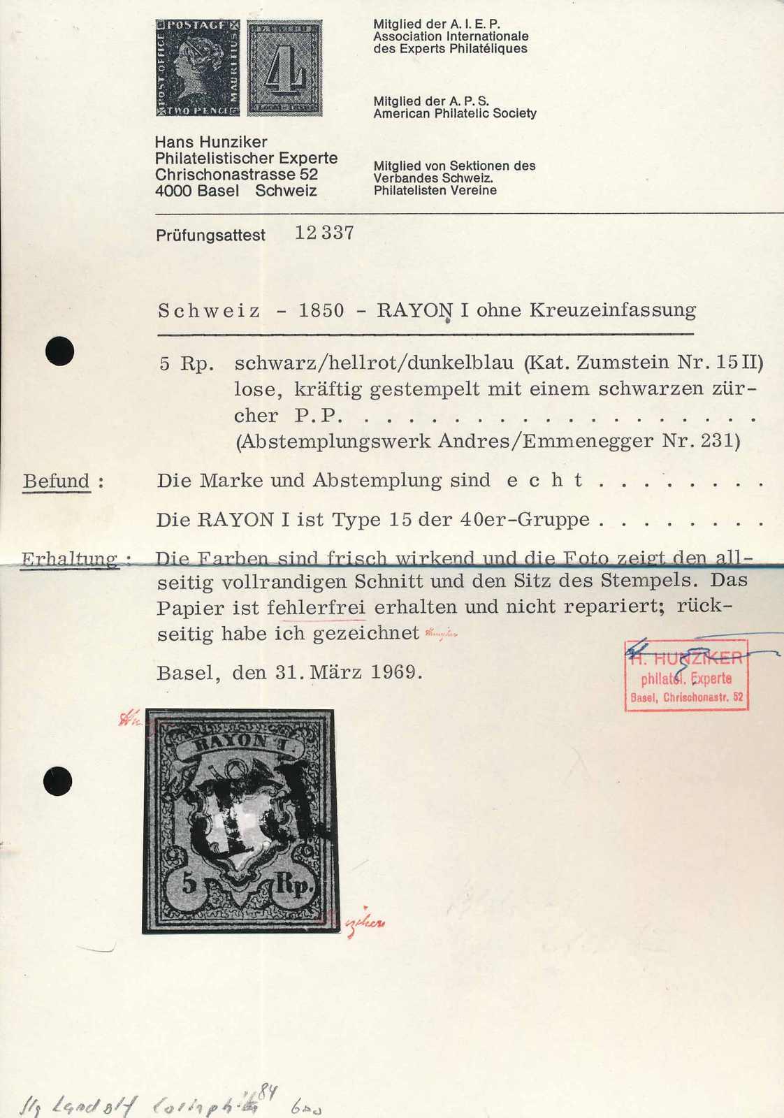 Lot 536 - RAYON I, DUNKELBLAU OHNE KE  -  MH Marken GmbH Auktion 118