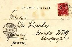 259: Deutsche Schiffspost allgemein - Stempel