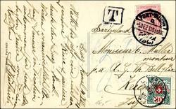 1560310: Ägypten Freimarken 1914-1922 - Portomarken