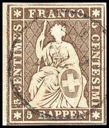 5655134: Strubel 3rd Berner Druck thick paper