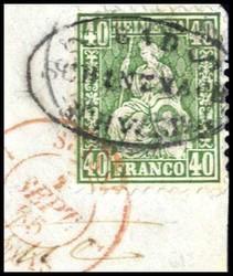 5655580: Schweiz Hotelpost