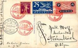 5659: Schweiz Flugpostmarken - Postkarten