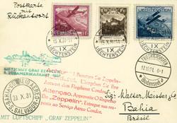 4175440: Liechtenstein Zeppelin Vertragsstaatenpost