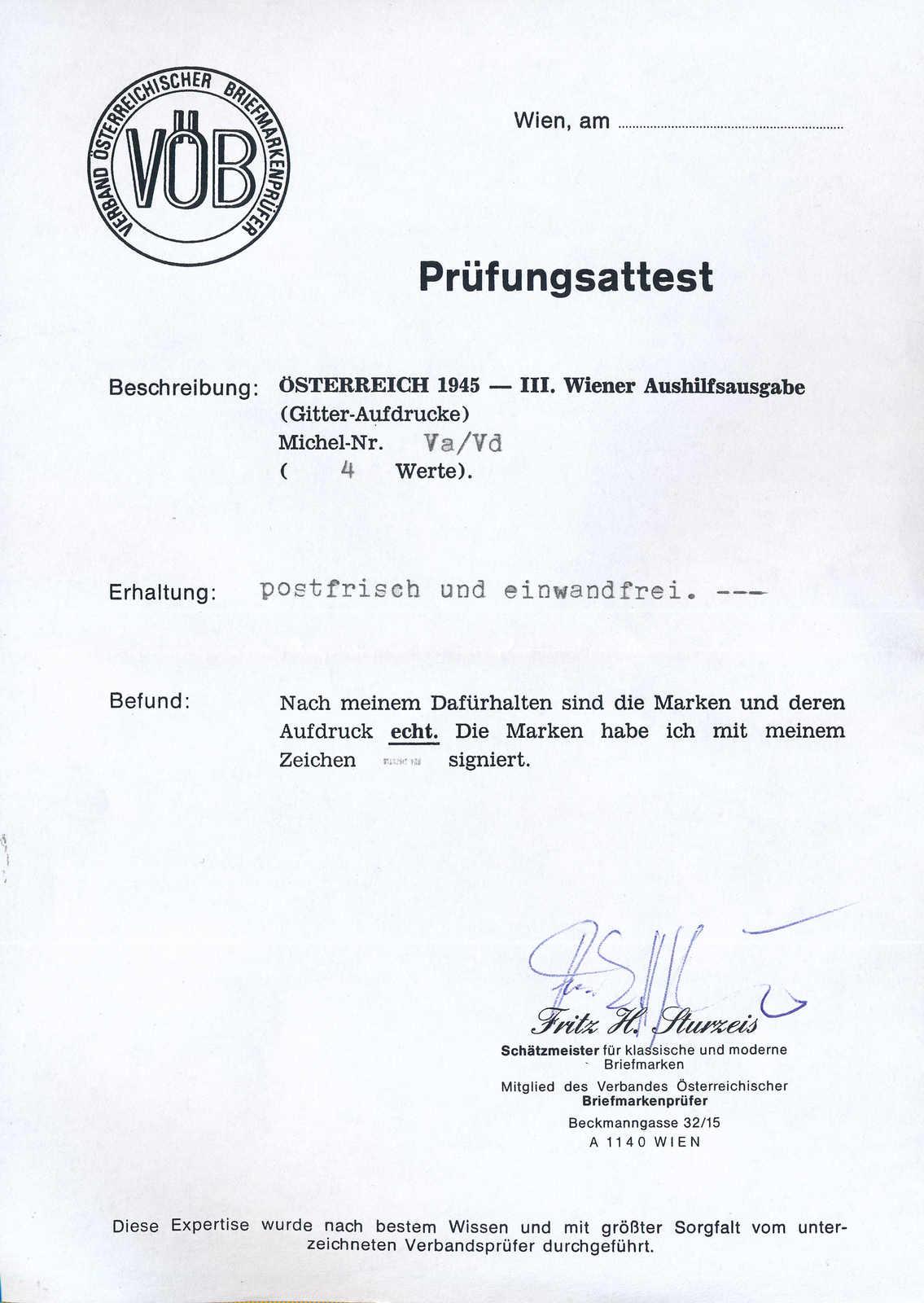 Lot 1614 - österreich  -  MH Marken GmbH Auktion 118