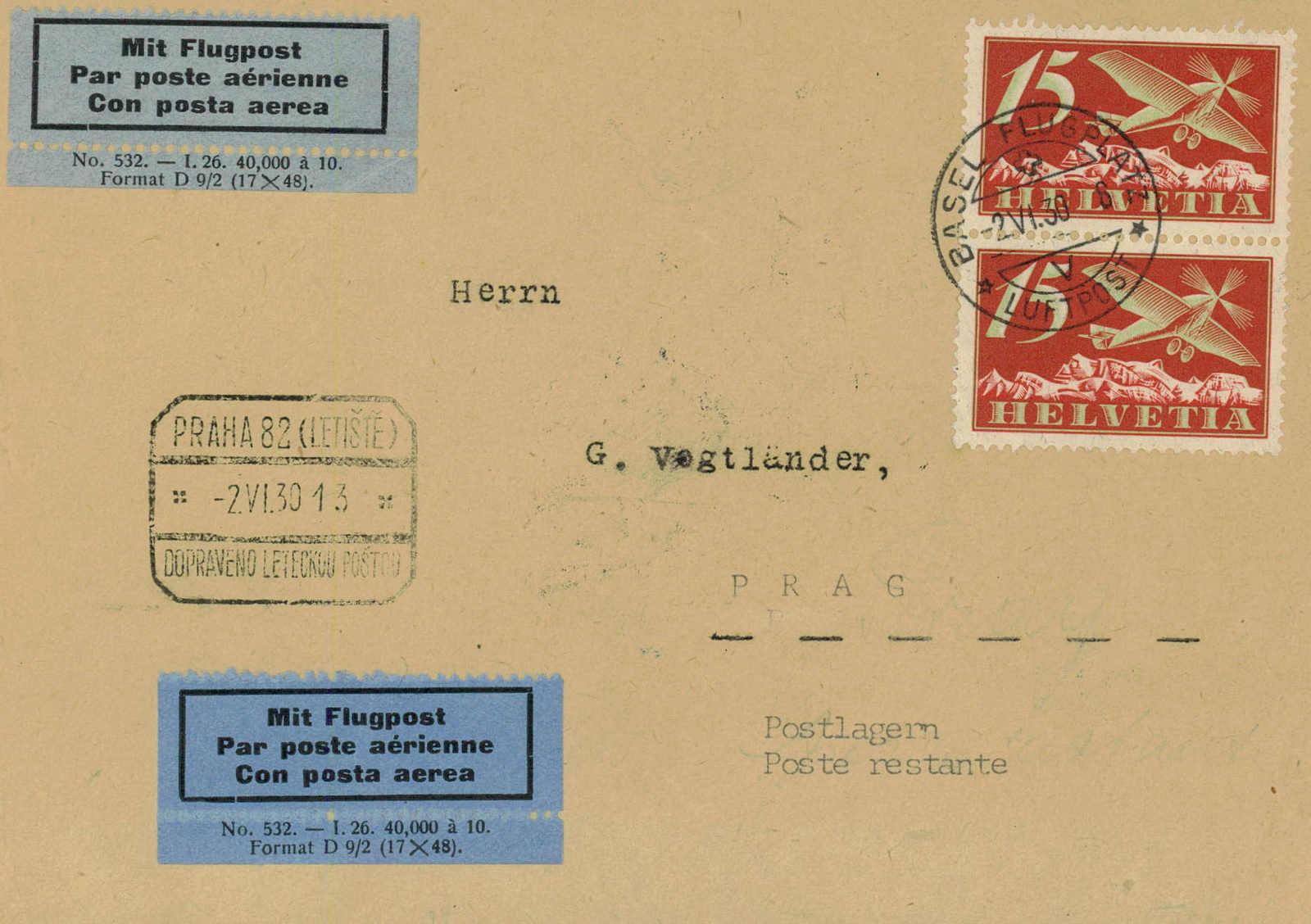 Lot 944 - REGELMÄSSIGER FLUGVERKEHR (RF)  -  MH Marken GmbH Auktion 118