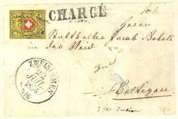 5655108: Rayon II, gelb, ohne Kreuzeinfassung (Diverse) - Postkarten