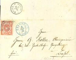 5655127: Rayon III (grosse Ziffer) - Postkarten