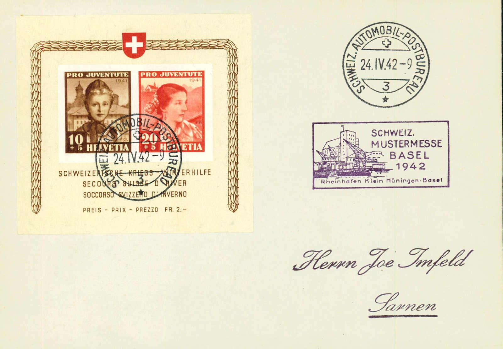 Lot 1051 - pro juventute  -  MH Marken GmbH Auktion 118