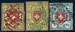 5655099: Schweiz Rayons diverse - Lot