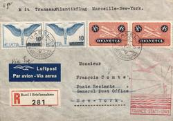 5659: Schweiz Flugpostmarken - Neudrucke