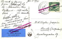 6605: USA - Flugpostmarken