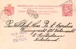 4630: Niederländische Antillen - Stempel