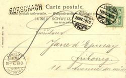 5655148: Schweiz Ziffermuster - Postkarten