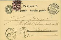 5655148: Schweiz Ziffermuster - Ganzsachen