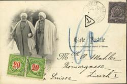 6445: Tunesien - Portomarken