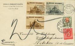 1810: 比利時 - Postage due stamps