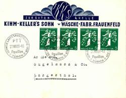 5655154: Schweiz Zusammenhängende - Vignetten