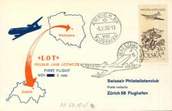 4945070: Polen 1952-1989 - Flugpostmarken