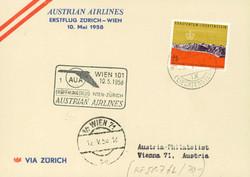 4175420: Liechtenstein Erstflug Zuleitungen - Flugpostmarken
