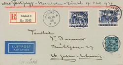 5625100: Schweden 1912-1944 - Flugpostmarken