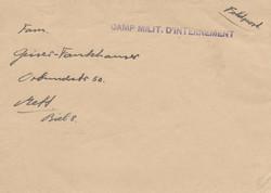724020: Kriegsgefangenenlagerpost 2. Wk - Stempel