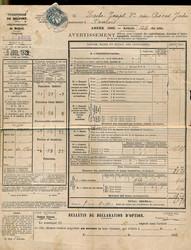2565: Frankreich - Dokumente