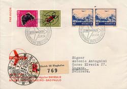 5655153: Schweiz Kehrdrucke - Flugpostmarken