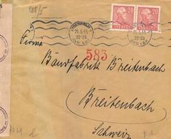5625100: Schweden 1912-1944 - Briefe Posten