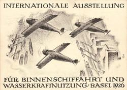 5659100: Schweiz - Flugpost - Werbevignetten - Flugpostmarken