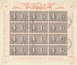 5658: Schweiz Blöcke - Stempel