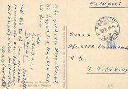 7755: Sammlungen und Posten Feldpost - Stempel