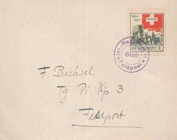 5711011: Soldatenmarken  2. Division - Militaerpostmarken