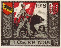 5711012: Soldatenmarken  3. Division - Militaerpostmarken