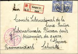 6535: Ungarn - Stempel